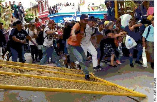 Migracionrompen Cerco En Guat 486447