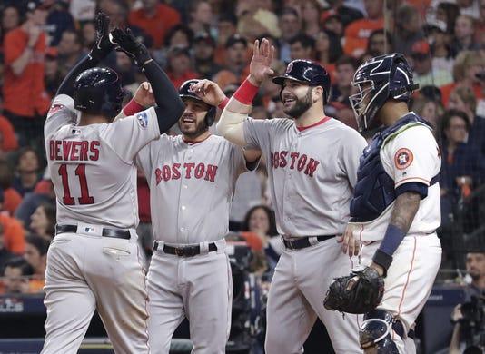 Astros De Houston Medias Rojas De Boston