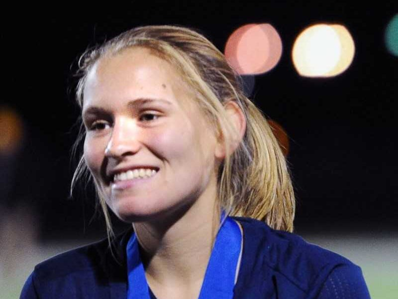 A soccer standout, Julia Nelson of Elco had a big week on the basketball court, averaging 14.0 ppg in two Raider wins.
