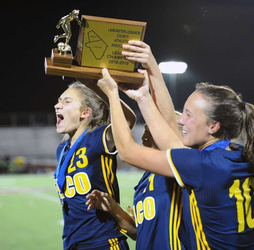 Elco girls capture first L-L League soccer title with tight win over Conestoga Valley