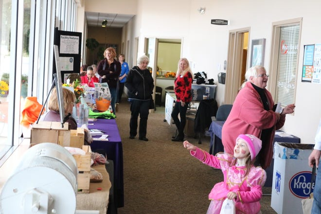Trick-or-treating, face-painting and more were there for kids at the second annual Project Connect at the Sutton Center on Friday, which put Ottawa County families in touch with organizations there to help.