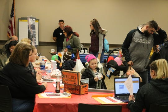 Along with connecting with area organizations, there was plenty of fun for Ottawa County families at the second annual Project Connect on Friday, like face-painting and trick-or-treating.