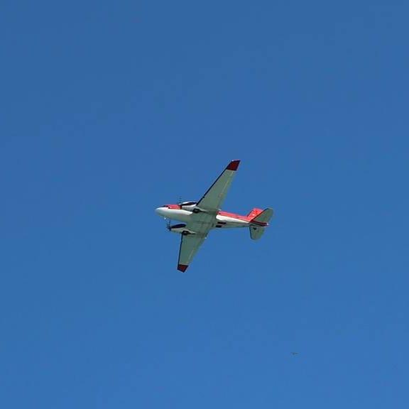 Sanilac deputies: Large plane was doing a coastal survey