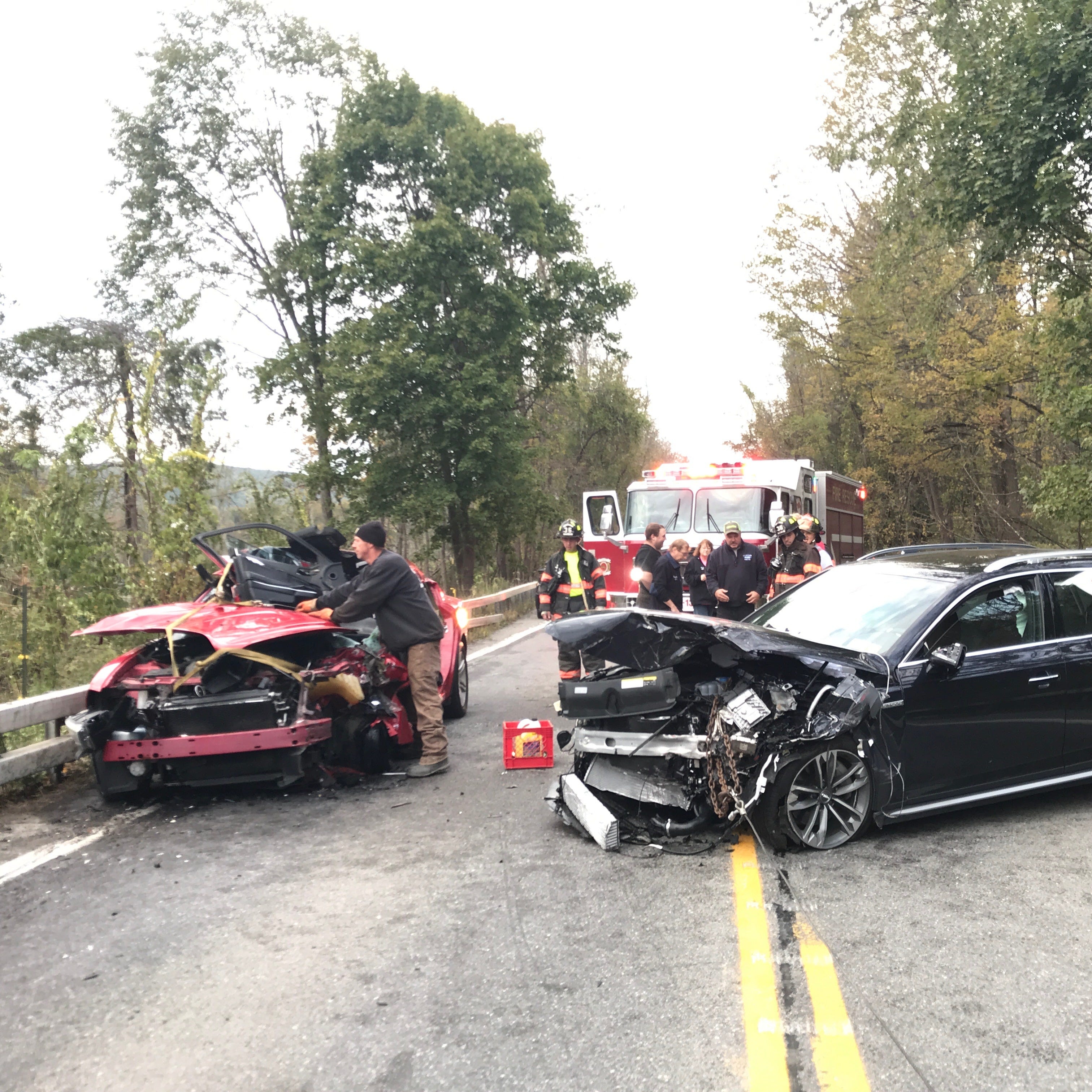 No life-threatening injuries in Dover crash; lanes open