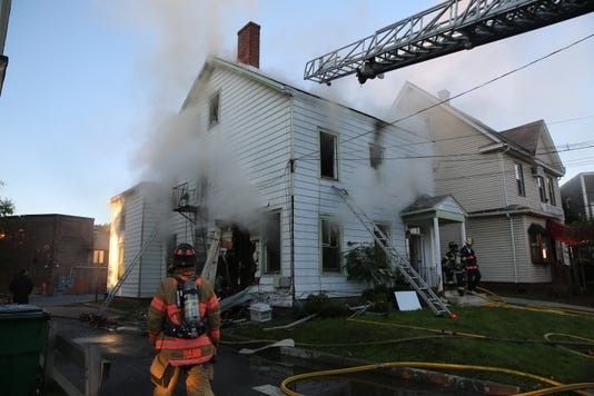 LaGrange Avenue fire