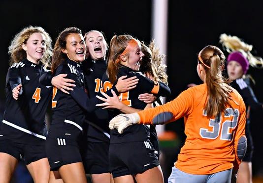 Dallastown Vs Central York In Girls Soccer Semifinal