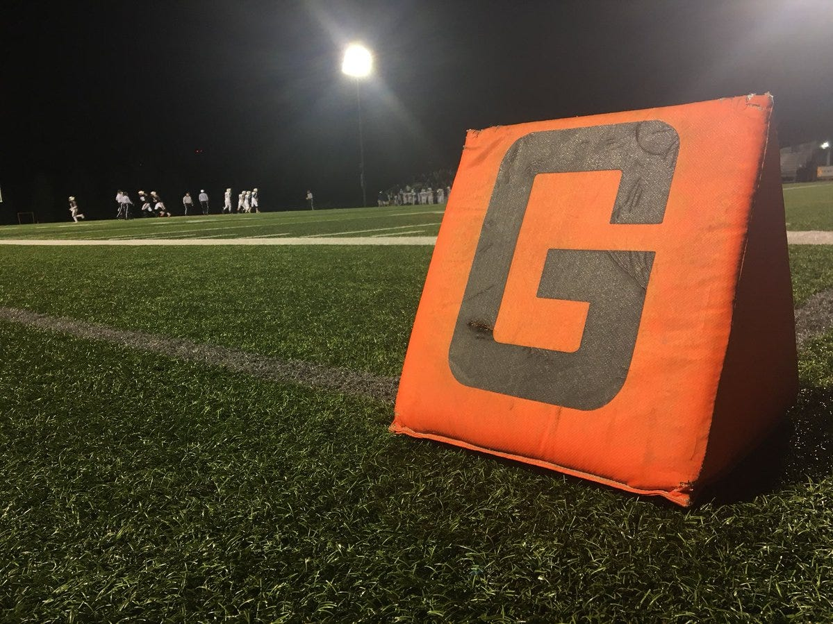 The ultimate destination, the end zone at York Suburban.