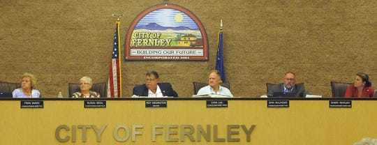 Fernley City Council approved a resolution to form a redevelopment agency.