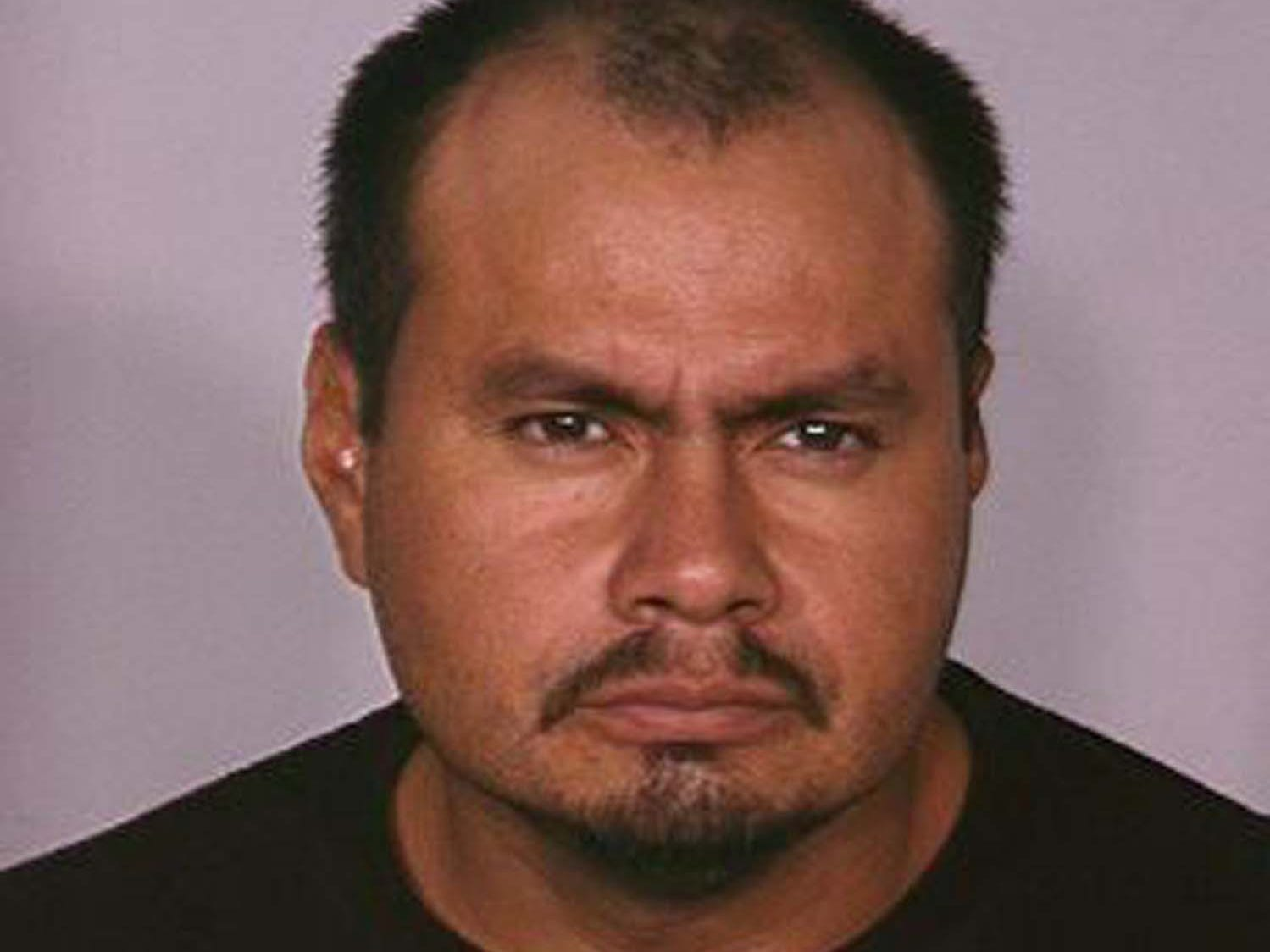 Juan Fuentes Quintero, 47, is wanted by the Nevada Department of Public Safety's Investigation Division for trafficking in and possession with intent to sell methamphetamine and heroin. He is 5 feet 7 inches tall and weighs 175 pounds. He has brown hair and eyes and is known to abuse alcohol.