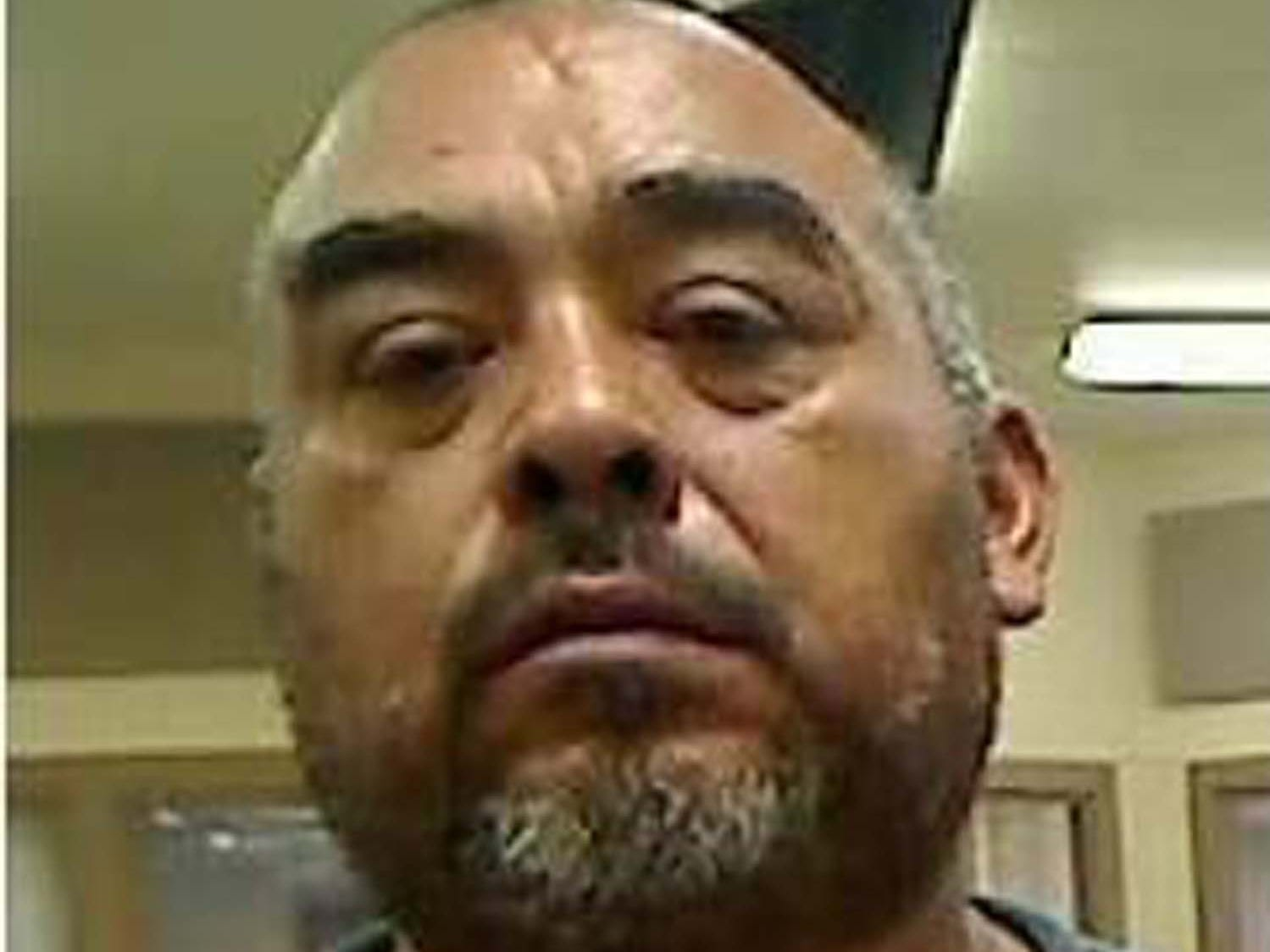 Cenobio Ismael Arizon-Perez, 45, is wanted by the Nevada Department of Public Safety's Investigation Division for failing to appear in court for drug-related charges. He was initially charged with two counts of trafficking a controlled substance. He is 5 feet 8 inches tall and weighs 200 pounds. He has black hair and brown eyes and has a pierced left ear. He also has a scar on his abdomen and over his left eye. He is known to have violent tendencies and has ties in Mexico.