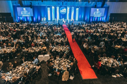 The awards dinner is the Rochester Chamber's biggest event of the year.