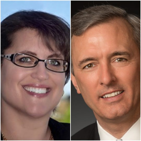 Democrat Dana Balter is challenging GOP Rep. John Katko in a closely watched central New York House race.