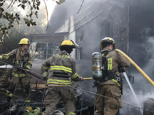 House Fire In Shasta Lake