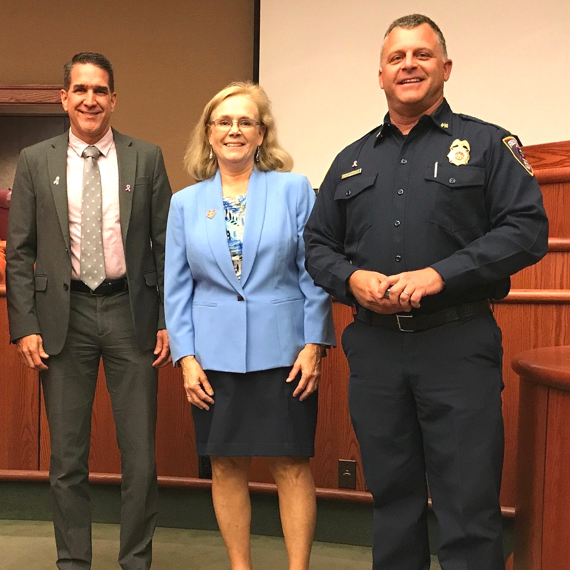 Kreider named new fire chief for Redding