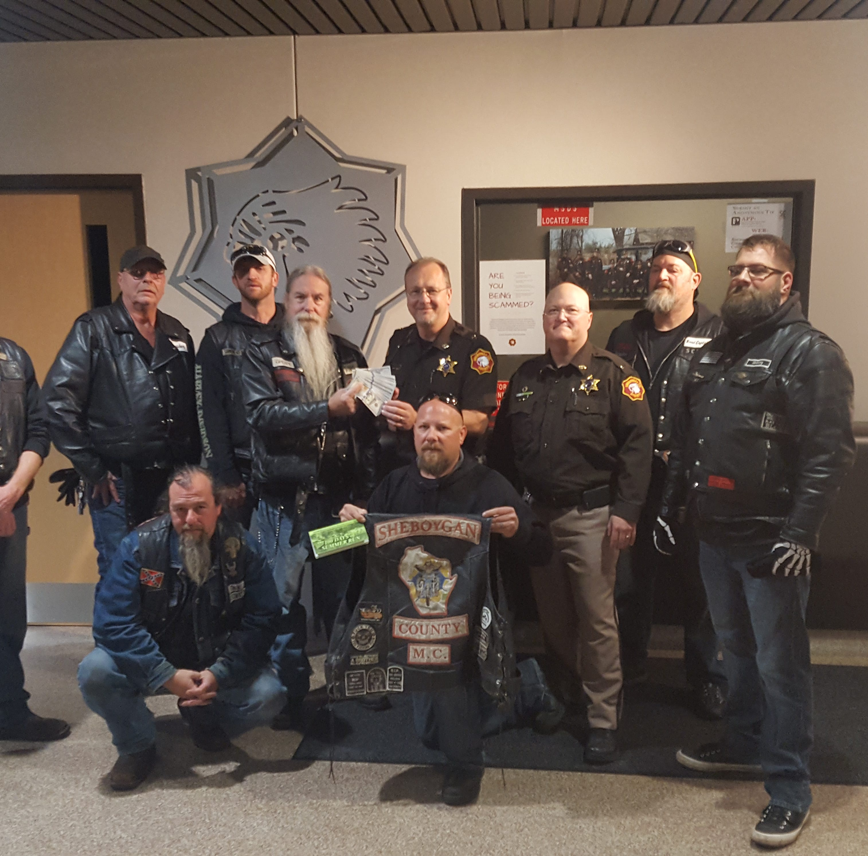 Sheboygan Shop with a Cop program gets $5,000 from Motorcycle Club