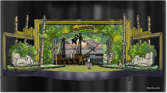 """""""Reuben's Swashbuckling Adventure"""" is a $1 million custom """"Broadway-style"""" production that Silver Dollar City is adding for its 2019 season, park officials said."""