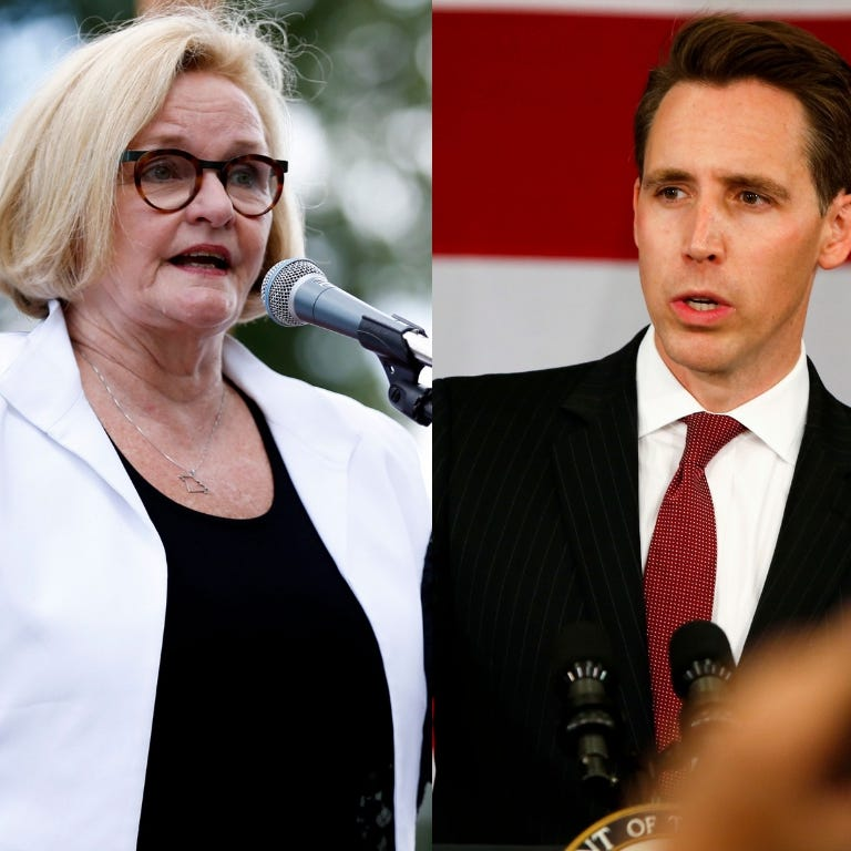 McCaskill, Hawley square off in first debate