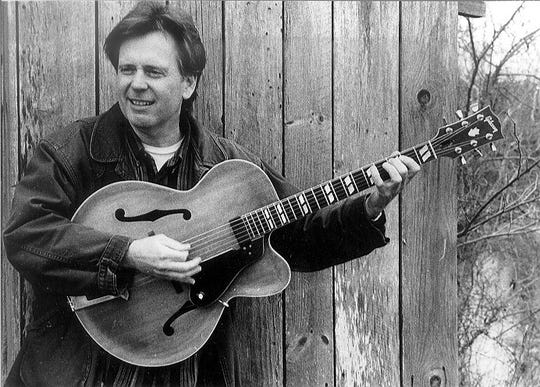 Musician Bert Carlson in a 2002 publicity photo. Carlson died Oct. 16, 2018.