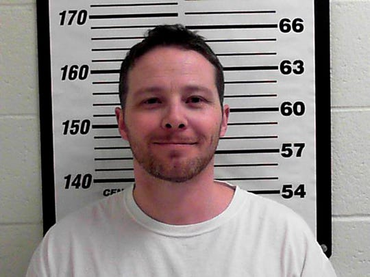 This undated file photo released by Davis County Sheriff's Office shows William Clyde Allen III. An indictment unsealed Thursday, Oct. 18, 2018, says Allen mailed envelopes to the CIA director and the Air Force secretary as well as Trump and other top officials. Allen pleaded not guilty to seven charges, including threatening to use a biological toxin as a weapon. (Davis County Sheriff's Office via AP, File)