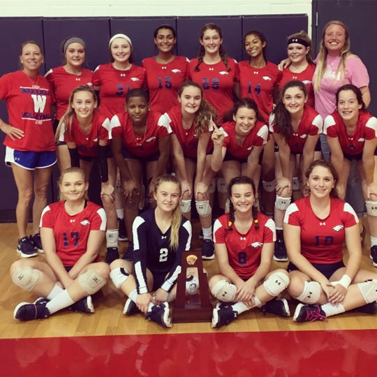 Wakulla's volleyball team captured a District 2-6A title on Thursday with a sweep of Suwannee. The War Eagles improved to 20-7.