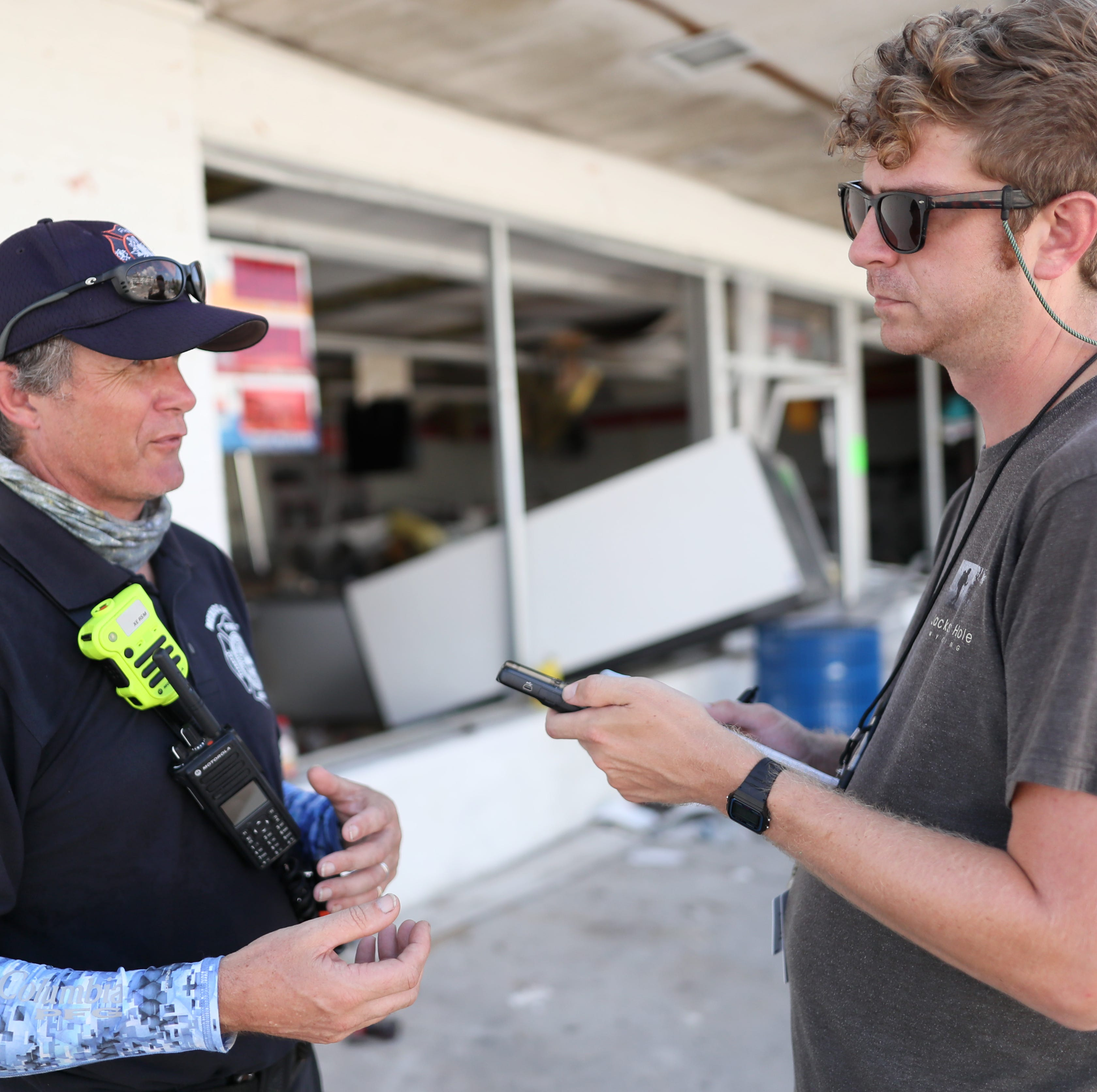 A reporter's Hurricane Michael notebook: Finding words to capture the indescribable