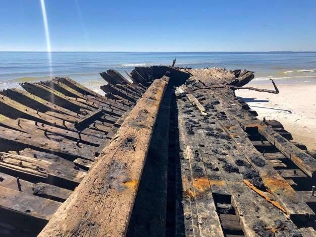 Hurricane Michael unearthed 19th century shipwrecks in Florida