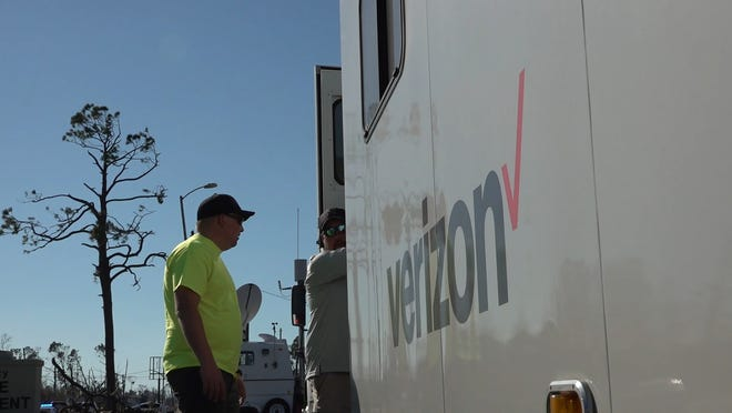 Verizon is giving Hurricane Michael victims in nine counties in North Florida free phone service for three months.