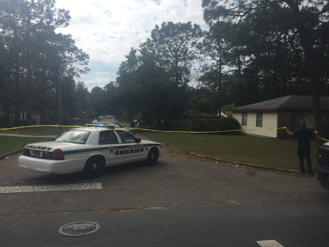 LCSO is investigating a shooting Friday morning on White Oak Drive that left one person with non-life threatening injuries.