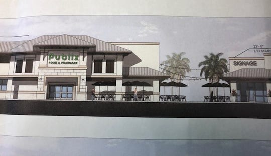 Publix hopes to build a supermarket and five retail stores on County Road 510 near the Wabasso Causeway.