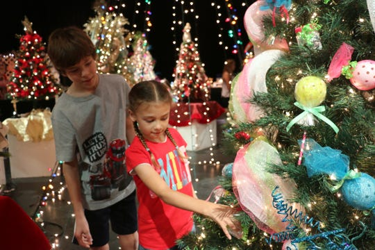 The 21st annual Festival of Trees is this weekend at Riverside Theatre in Vero Beach.