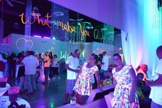 Mrs. October Jennifer Wiggins hosted the second annual Ladies of Jewelia Glow Dance Party at the Regal Event Hall in Port St. Lucie.