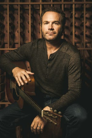 John Ondrasik, best known by his stage name Five for Fighting, performs at the Scherr Forum at the Thousand Oaks Civic Arts Plaza on Oct. 27.