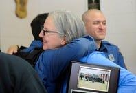 Deb Marko gets surprise award from Vineland police