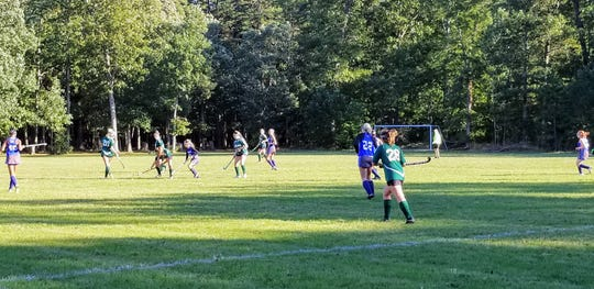 Our Lady of Mercy Academy played its first official game on its new field on campus.