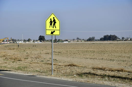 An empty field behind Ridgeview Middle School may soon be the site of a new Visalia high school.