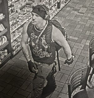 A male is accused of using a cloned credit card on Oct. 4 and 5 at several locations in the Wausau area.