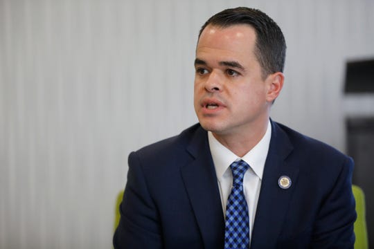 David Carlucci candidate for New York State Senate 38th District  on Oct. 19, 2018.