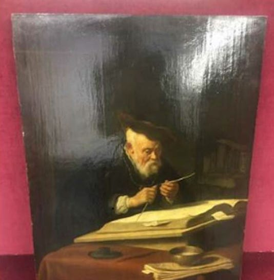 """""""A Scholar Sharpening His Quill"""""""