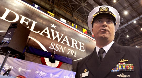 Commander Brian P. Hogan will be the Captain of the USS Delaware and its 135-man crew.