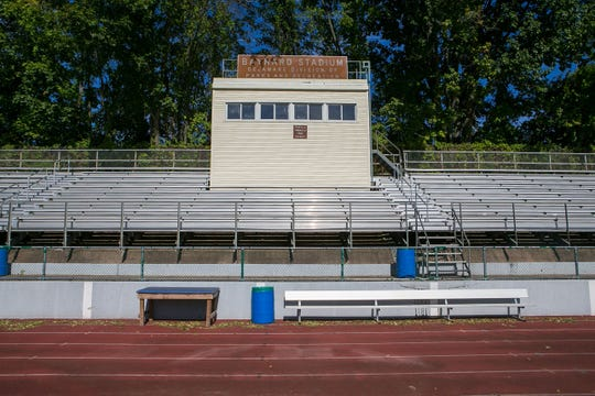 Once Baynard Stadium is demolished next summer, construction will begin on the new Abessinio Stadium, which will have a new artificial turf field, eight-lane track and new lights, bleachers, scoreboard, concessions and locker rooms, among other amenities.
