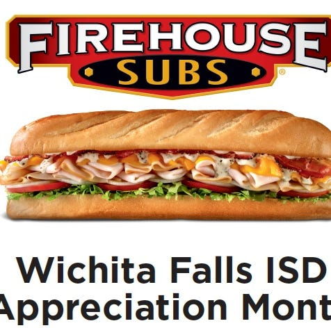 Firehouse subs offers deal to WFISD educators, staff