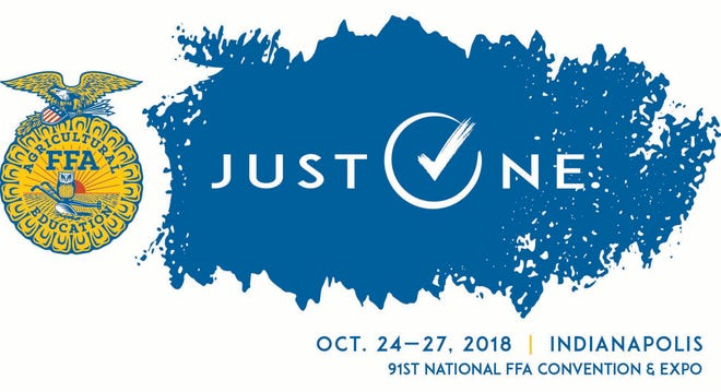 National FFA Convention logo.
