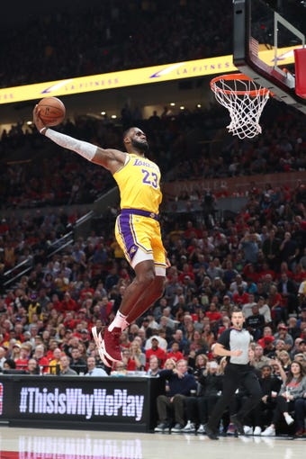 Best dunk photos of 2018-19 NBA season