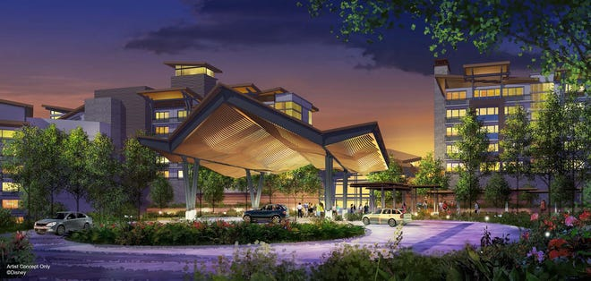 Walt Disney World will welcome a new, nature-inspired resort in 2022 with more than 900 rooms and villas. (Proposed – Artist Concept Only)
