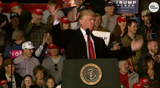 """President Donald Trump, speaking at a rally in Montana, praised Republican Rep. Greg Gianforte who body slammed a reporter last year, saying the lawmaker was """"my guy."""""""