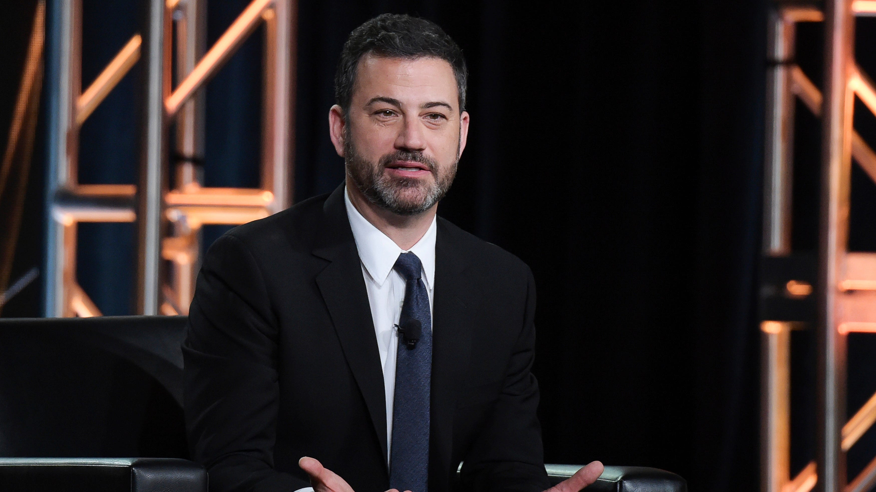 Kimmel wants the government to work like a Trump building in New York