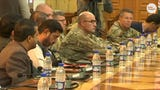 Three top provincial leaders, including the governor and a  widely-known police chief, were killed and two Americans injured by Afghan bodyguards at a security conference in Kandahar.