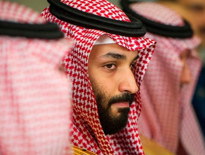 Saudi Crown Prince Mohammed bin Salman is seen in this March 22, 2018, file photo in Washington.