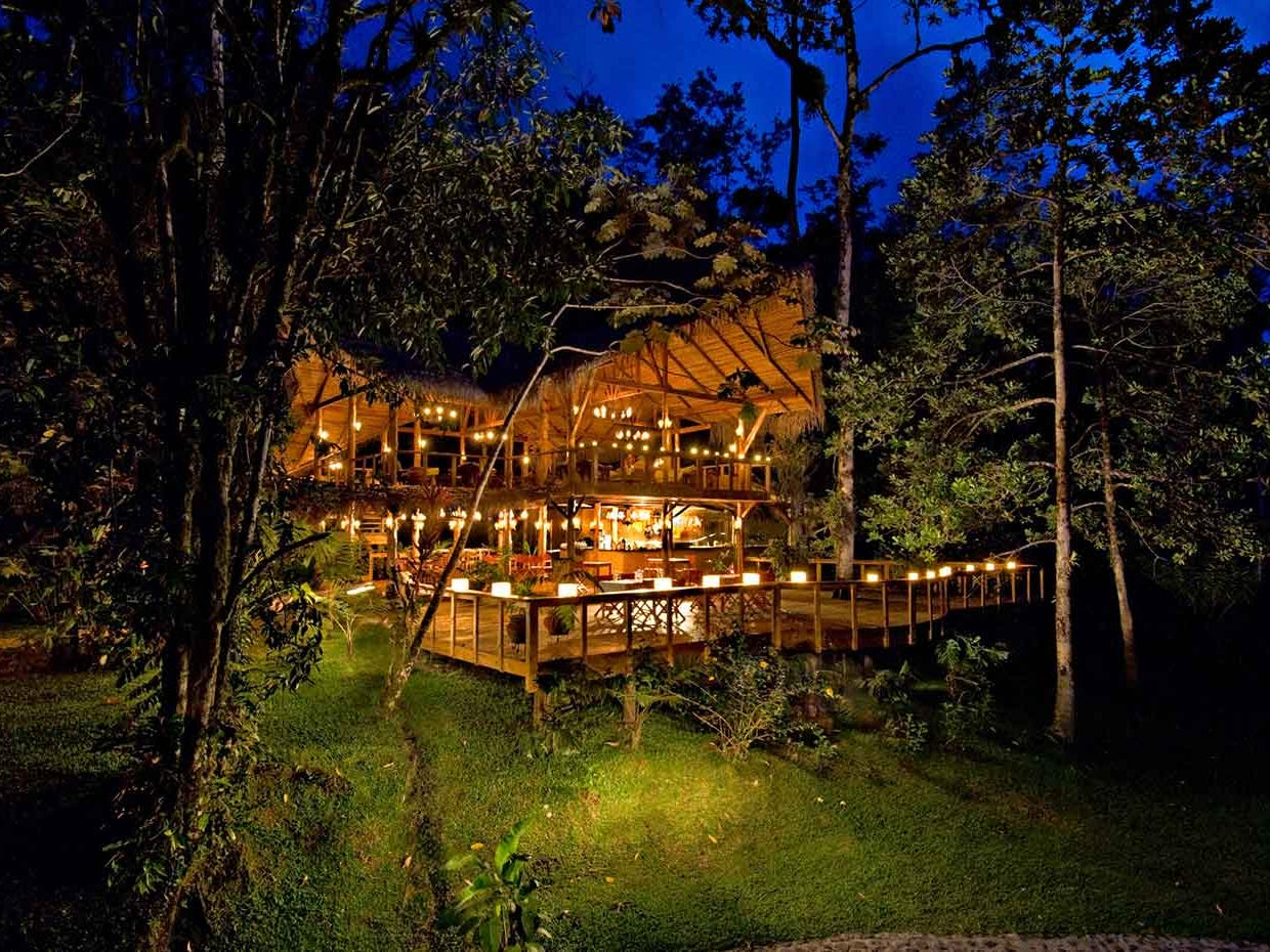 Pacuare Lodge's rate for double occupancy starts at $965.