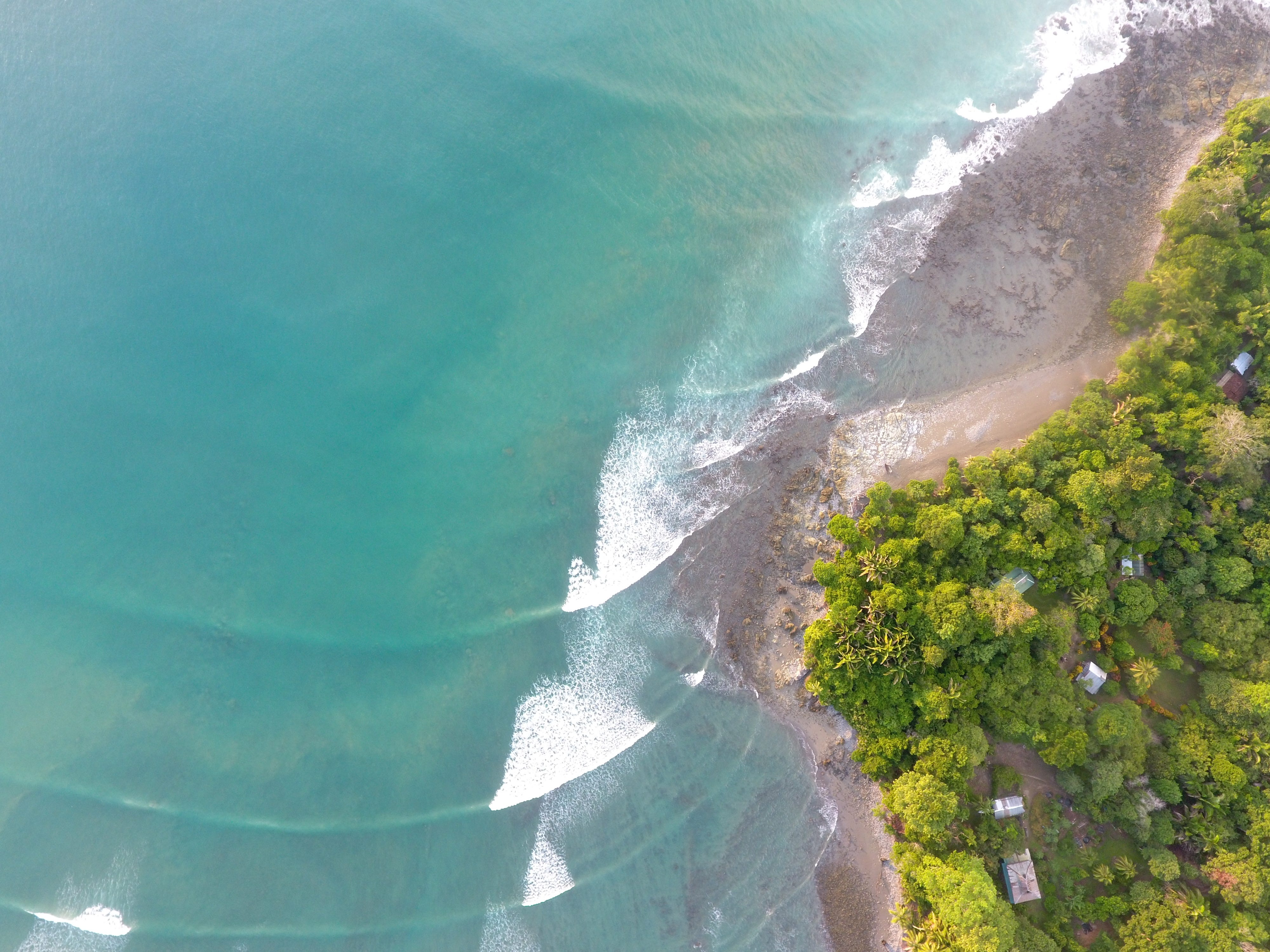 Located on the Osa Peninsula, the 17-bungalow Lapa Rios Lodge has been recognized for its commitment to sustainability and is a founding member of National Geographic Lodges of the World.